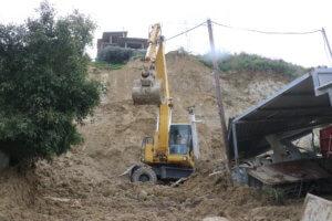 Ηράκλειο: Αποκλεισμένα σπίτια μετά από νέες κατολισθήσεις – Αυτοψία στο σημείο [pics]