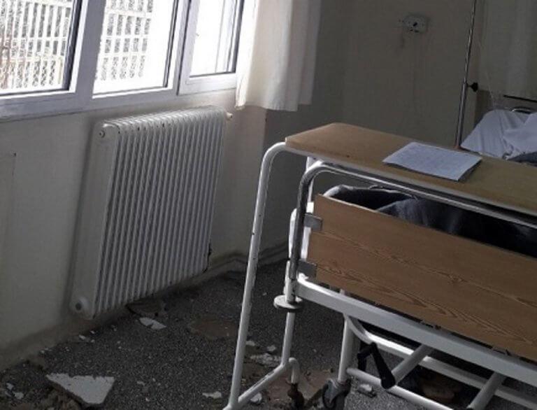 Κιλκίς: Νοσοκομείο υψηλού κινδύνου – Η απάντηση του διοικητή μετά την πτώση τμήματος της ψευδοροφής [pics]