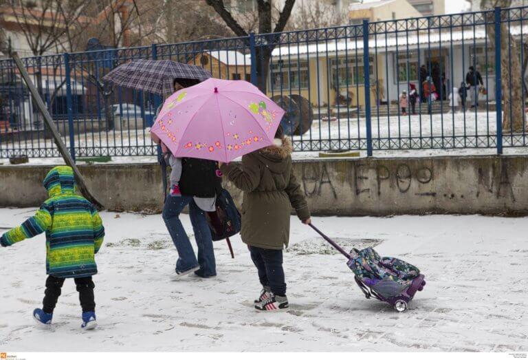 Καιρός – Ωκεανίς: Κλειστά σχολεία αύριο (25-02) – Τα προβλήματα και η εξέλίξη της κακοκαιρίας [pics, video] | Newsit.gr