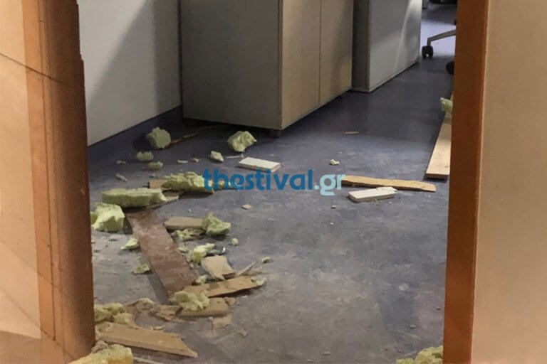 Θεσσαλονίκη: Άγρια ληστεία με ύβρεις σε κλινική – Γκρέμισαν τοίχο και βούτηξαν το χρηματοκιβώτιο [pics]