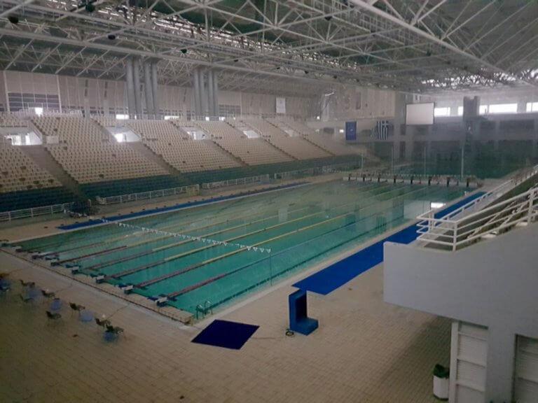 Φωτιά στο ΟΑΚΑ! Ματαιώθηκαν κολυμβητικοί αγώνες [pic] | Newsit.gr
