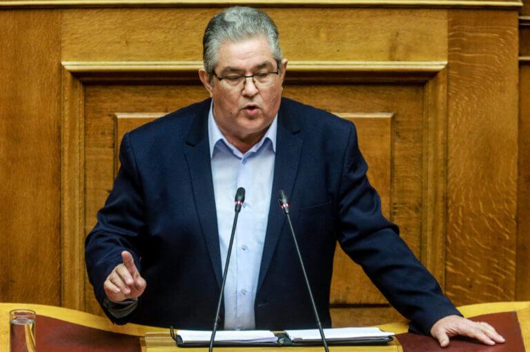 Κουτσούμπας: Η κατάσταση στην Βουλή αγγίζει τα όρια της γελοιότητας και της υποκρισίας