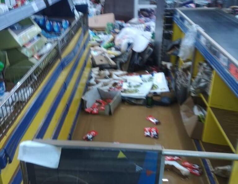 «Βούλιαξε» στο νερό σούπερ μάρκετ στα Χανιά! Απίστευτες εικόνες!   Newsit.gr
