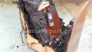 Λαμία: Πήρε φωτιά το σπίτι από κινητό τηλέφωνο – Έτσι ξεκίνησε ο εφιάλτης της ιδιοκτήτριας [pics]