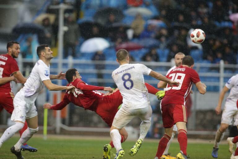 Λαμία – Ολυμπιακός 3-3: Ματσάρα στη βροχή! Ντεμπούτο με γκολ για Ντίας και Σολδάνο | Newsit.gr