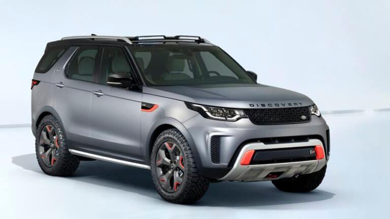 Δεν μπαίνει στην παραγωγή το Land Rover Το Discovery SVX