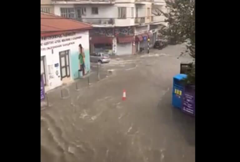 Λεμεσός: Δρόμοι… ποτάμια παρασέρνουν ότι βρουν μπροστά τους! – video | Newsit.gr