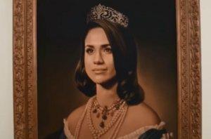 """""""Έφαγαν"""" την βασίλισσα Ελισάβετ για χάρη της Μέγκαν Μαρκλ! video"""