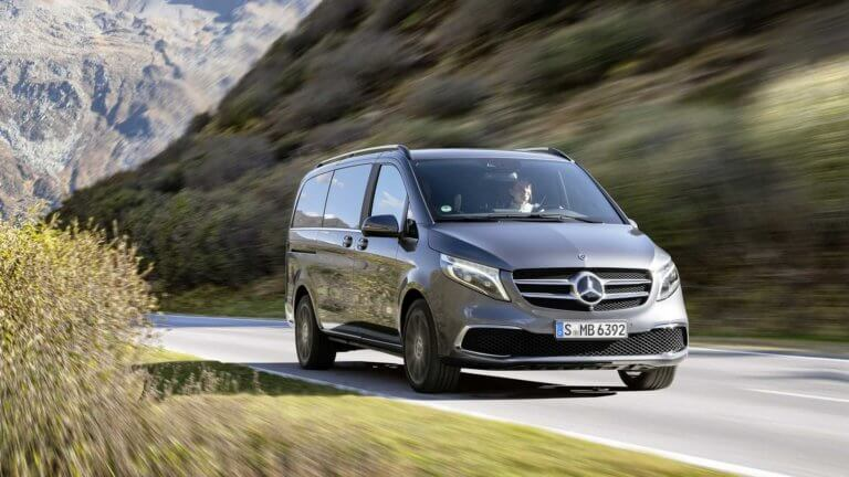 H Mercedes-Benz φρεσκάρει την πολυτελή V-Class και ετοιμάζει ηλεκτρική έκδοσή της