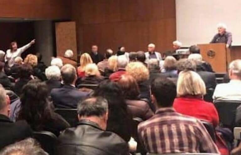 Θεσσαλονίκη: Φραστική επίθεση στον Τριαντάφυλλο Μηταφίδη – Αυτή είναι η γυναίκα που τον διέκοψε – video | Newsit.gr