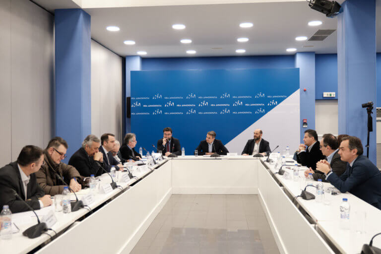 Με εκπροσώπους του Πανελλήνιου Φαρμακευτικού Συλλόγου συναντήθηκε ο Μητσοτάκης | Newsit.gr