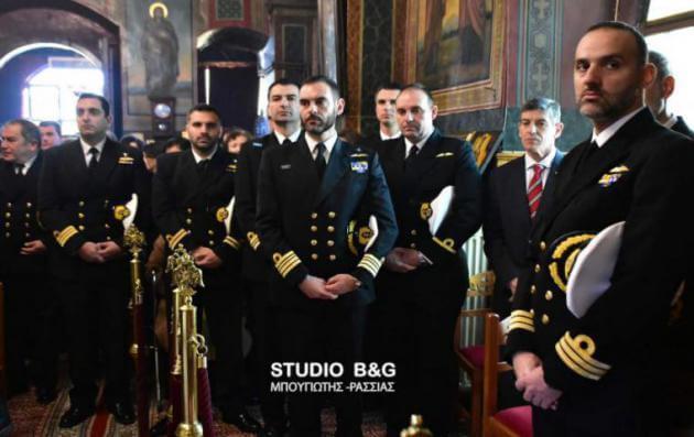 Βαρύ πένθιμο κλίμα και συγκίνηση στο μνημόσυνο του ήρωα πεσόντα Υποπλοιάρχου Πανανά [vid] | Newsit.gr