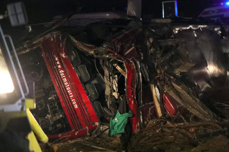 Θρήνος στη Βόρεια Μακεδονία: 14 οι νεκροί από την ανατροπή λεωφορείου – video | Newsit.gr