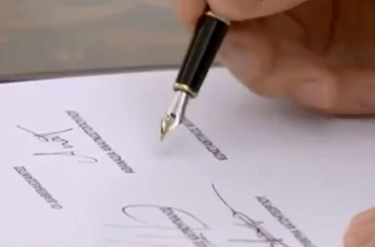 Ορκωμοσία: Η υπογραφή… καρδιογράφημα του Μπάρκα! video | Newsit.gr
