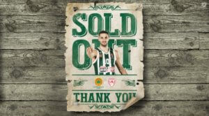 Παναθηναϊκός – Ολυμπιακός: Sold out το ματς στο ΟΑΚΑ! [pic]