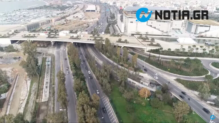 Η νέα λεωφόρος Ποσειδώνος… από ψηλά – Εντυπωσιακά πλάνα από drone | Newsit.gr