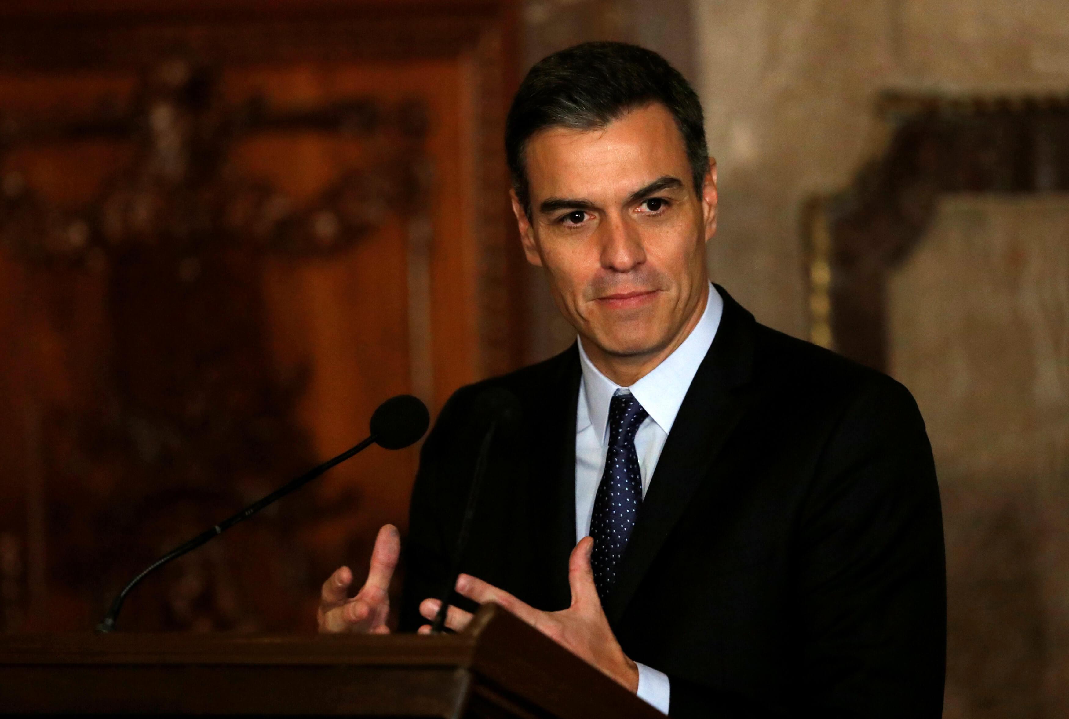 Ψάχνει στήριξη ο Σάντσεθ για τον σχηματισμό κυβέρνησης στην Ισπανία