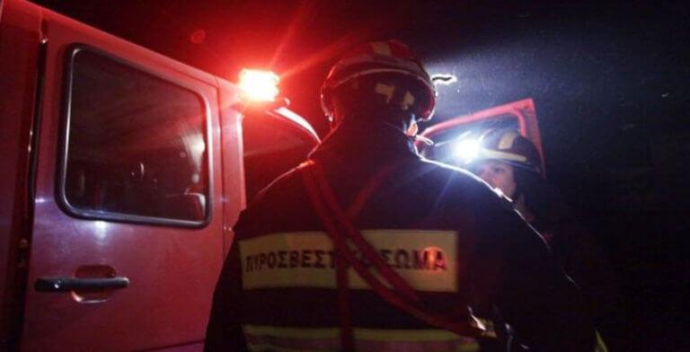 Κρήτη: Φωτιά σε δύσβατη περιοχή