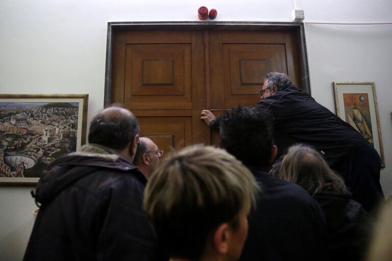 Ντου της ΠΟΕ – ΟΤΑ στο υπουργείο Οικονομικών | Newsit.gr