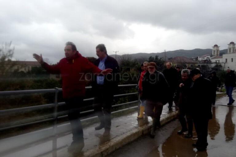 Χανιά: Αυτοψία στις πληγείσες περιοχές από Πολάκη – Σταθάκη | Newsit.gr