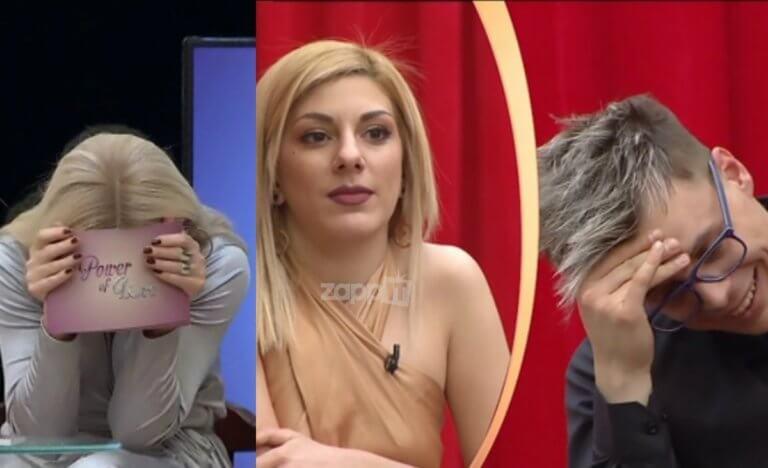 Χαμός στο Power of Love με την ατάκα της Λένιας! «Μ' αρέσουν τα φιλιά όταν δεν με σαλιώνουν» | Newsit.gr