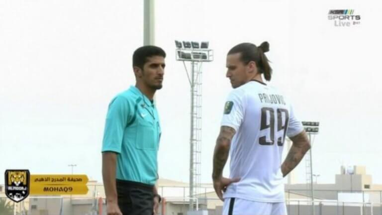 Πρίγιοβιτς: «Ήμουν άτυχος, θα δουλέψω σκληρά» | Newsit.gr