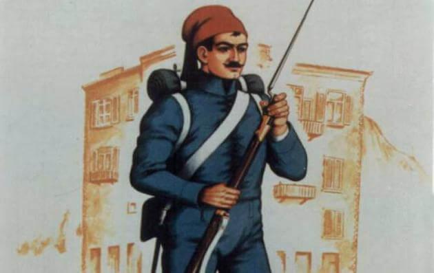 Σαν σήμερα συγκροτείται επίσημος Ελληνικός Τακτικός Στρατός με διάταγμα του Όθωνα