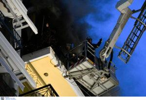Φωτιά στην Νέα Ιωνία: Νεκρή η γυναίκα!
