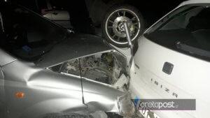 Συγκλονιστικές εικόνες σε τροχαίο στο Ηράκλειο [pics]