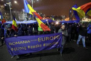 Ρουμανία: Χιλιάδες διαδηλωτές κατά των δικαστικών μεταρρυθμίσεων