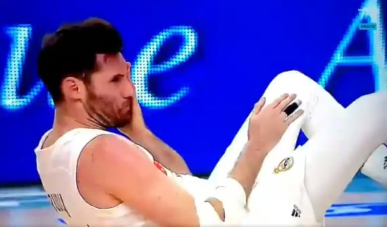 Ρεάλ Μαδρίτης: Το χτύπημα που έστειλε τον Ρούντι στο νοσοκομείο! – video