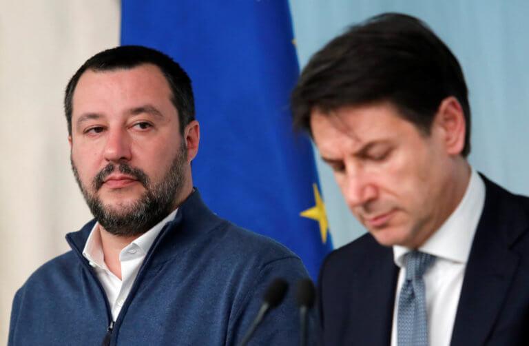 """Ιταλία: Νέες """"βόμβες"""" από την Λέγκα – """"Ή θα αλλάξουμε την Ευρώπη, ή θα την εγκαταλείψουμε"""""""