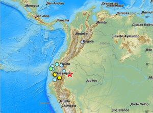 Σεισμός μαμούθ στο Εκουαδόρ