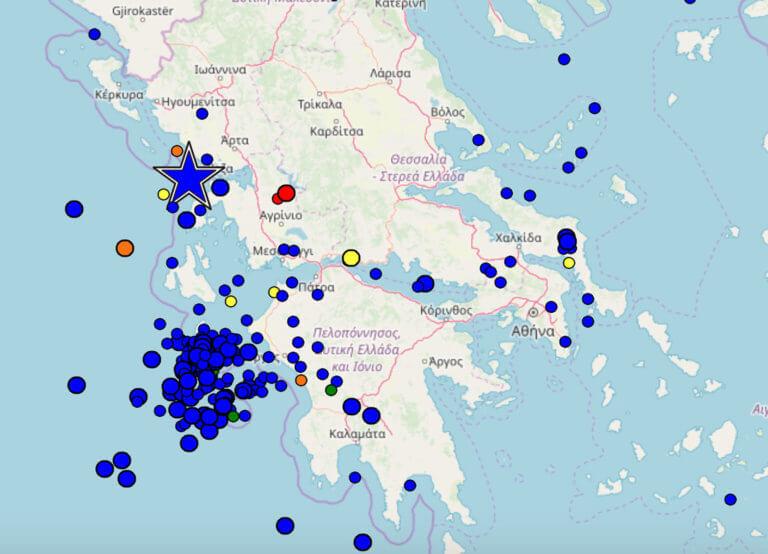 Σεισμός 5,2 ρίχτερ στην Πρέβεζα