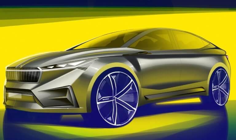 Νέο πρωτότυπο ηλεκτρικό κουπέ SUV από την Skoda | Newsit.gr