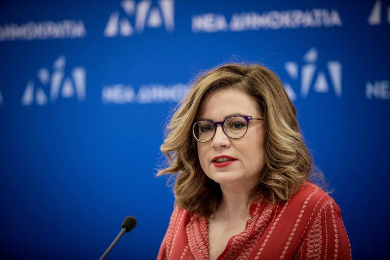 Σπυράκη: Να ξεκαθαρίσει ο Τσίπρας το ζήτημα της «μακεδονικής» μειονότητας