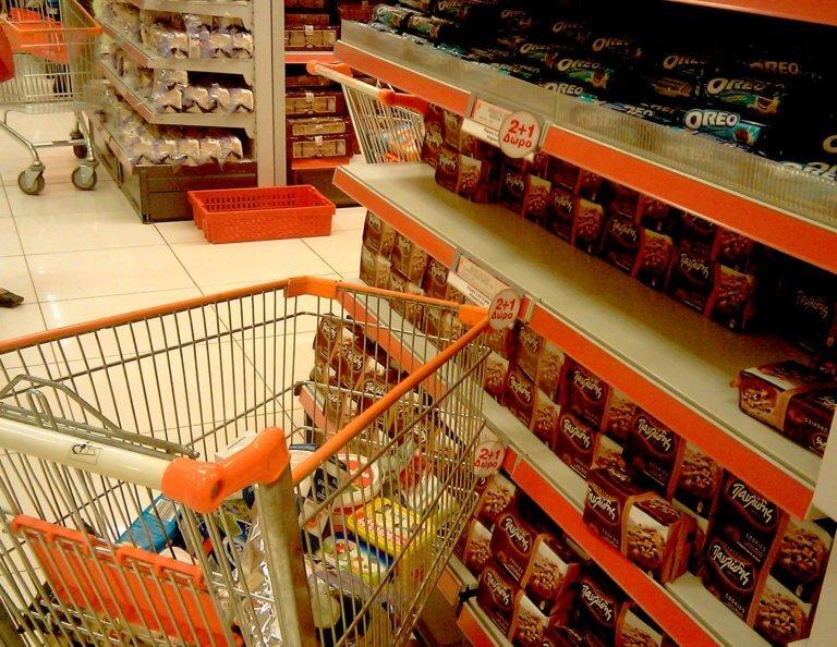 Τρίκαλα: Κρυφτό, κυνηγητό και χειροπέδες για ζευγάρι σε σούπερ μάρκετ | Newsit.gr