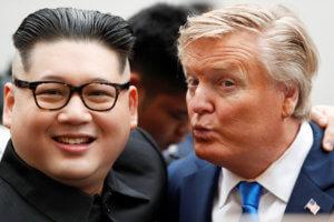 Συνέλαβαν τους… σωσίες του Τραμπ και του Κιμ Γιονγκ Ουν! Μοιάζουν σαν δυο σταγόνες νερό! [pics]