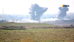 Συρία: 16 νεκροί από τις επιδρομές στο τελευταίο «προπύργιο» του ISIS – Μεταξύ τους 7 παιδιά