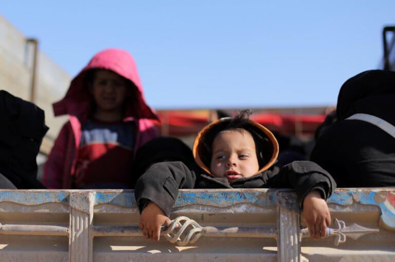 Συρία: Διακόσιες οικογένειες έχουν εγκλωβιστεί από το Ισλαμικό Κράτος