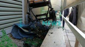 Θεσσαλονίκη: Οι εικόνες μετά τη ρατσιστική επίθεση – Τρόμος για οικογένεια με τρία παιδάκια [pics]