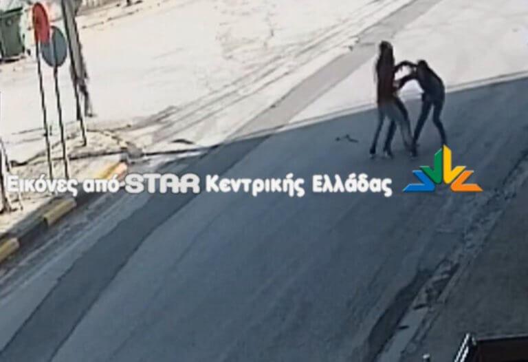 Θήβα: Άγρια επίθεση ανηλίκων σε γυναίκα! Σοκαριστικό βίντεο | Newsit.gr