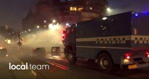 Επεισόδια στο Τορίνο μετά από εκκένωση κατάληψης – video
