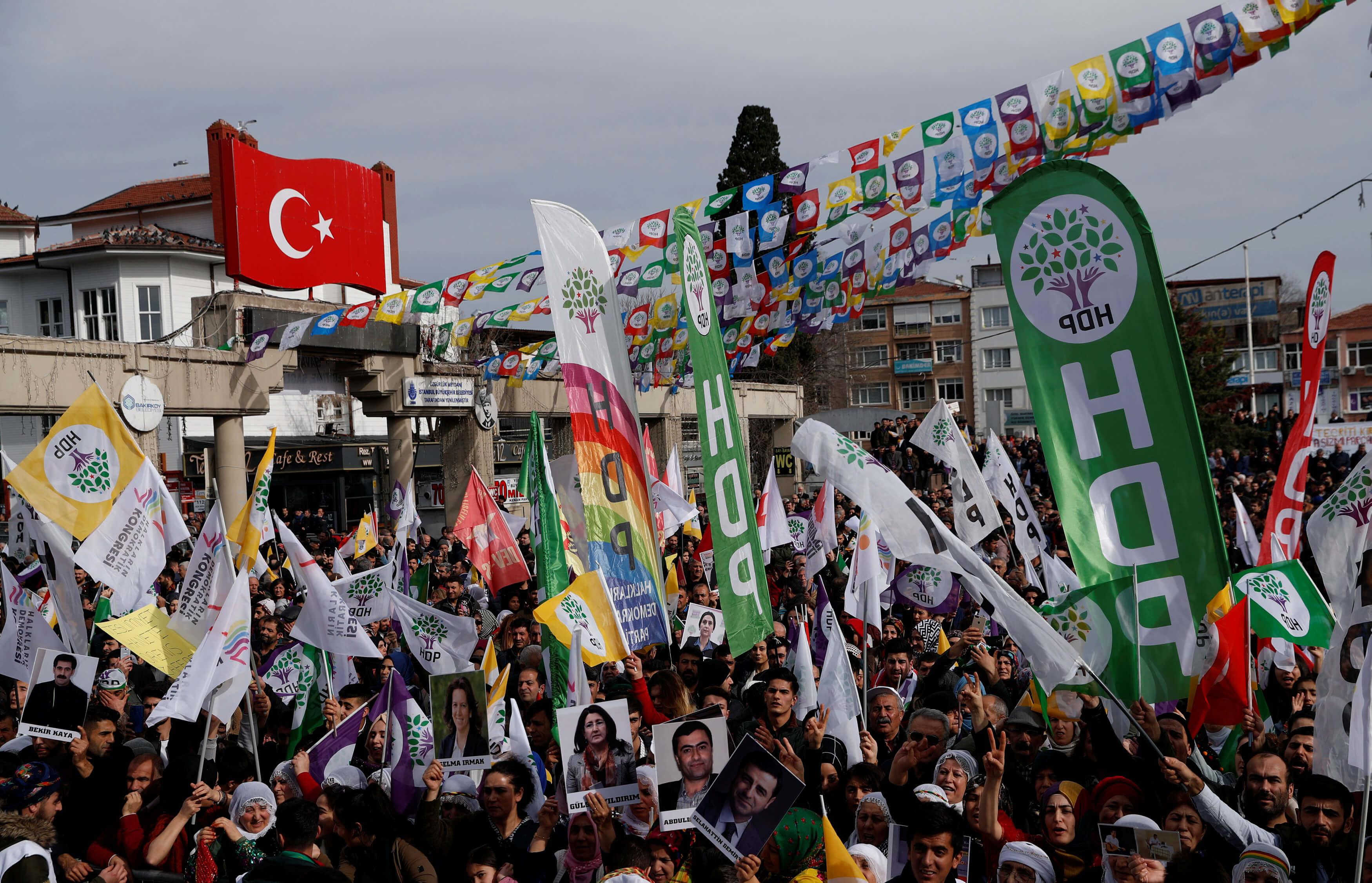 Παρέμβαση Βρυξελλών στην Τουρκία για το φιλοκουρδικό κόμμα: Μην το απαγορεύσετε