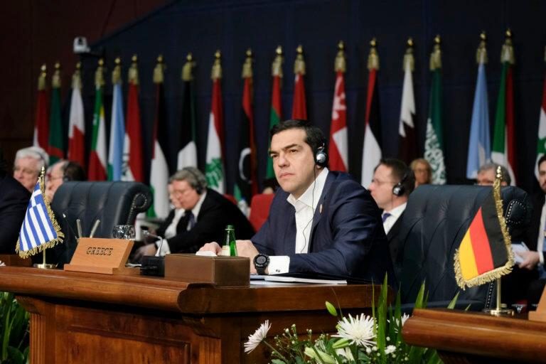 Τσίπρας: Σημαντικός ο ρόλος της Ελλάδας στον διάλογο Ε.Ε – Αραβικού συνδέσμου [pics] | Newsit.gr