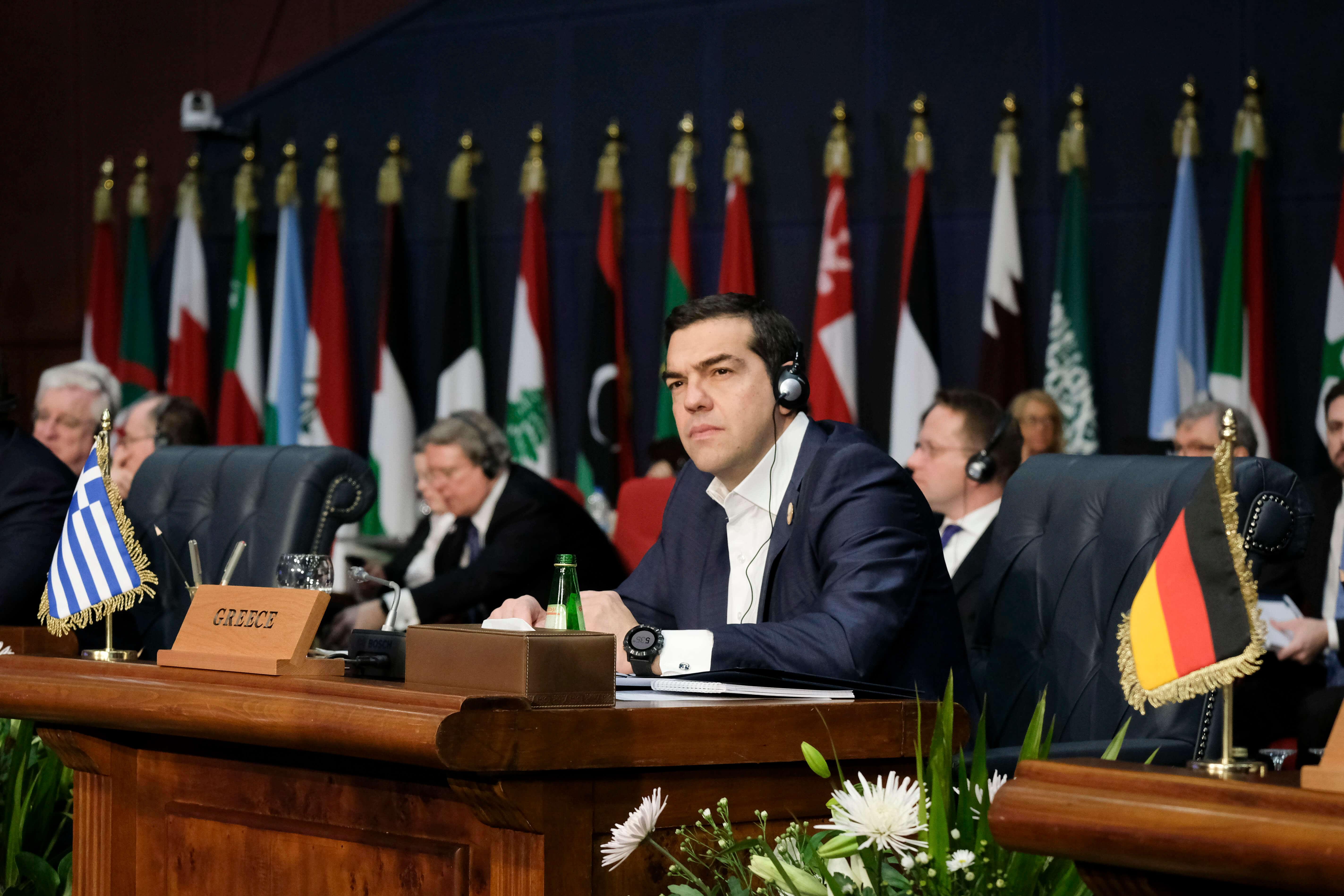 Τσίπρας: Σημαντικός ο ρόλος της Ελλάδας στον διάλογο Ε.Ε – Αραβικού συνδέσμου [pics]