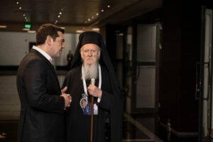Βαρθολομαίος: Ιδιαίτερος ο συμβολισμός της επίσκεψης του πρωθυπουργού στην Χάλκη