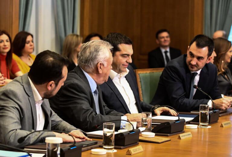 Η ομιλία Τσίπρα στο υπουργικό συμβούλιο
