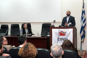 Τζανακόπουλος: Χαμός σε ομιλία στην Κατερίνη! «Προδότες είστε» του φώναζε νεαρή – video