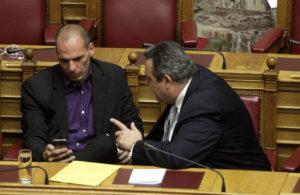 Βαρουφάκης: Ο Καμμένος υποστήριζε το Grexit – «Μου έλεγε προχώρα, είμαι μαζί σου»